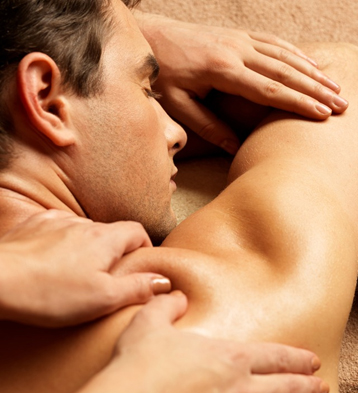 Ease the tension on your muscles with a massage that focuses on applying pressure to key parts of your body.