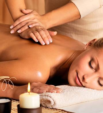 Enjoy a full-body massage for the ultimate relaxing experience.